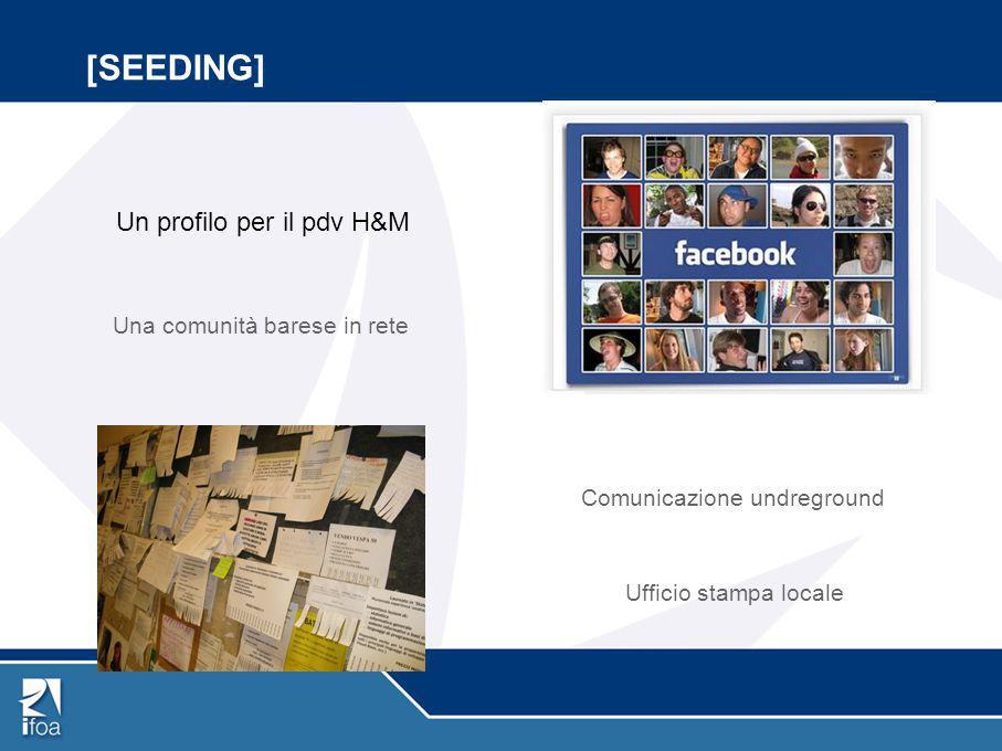 [SEEDING] Un profilo per il pdv H&M Una comunità barese in rete